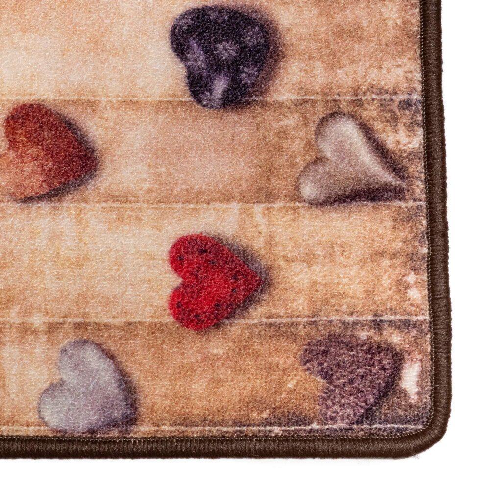 Tappeto DIGITAL COOKING Mini Hearts