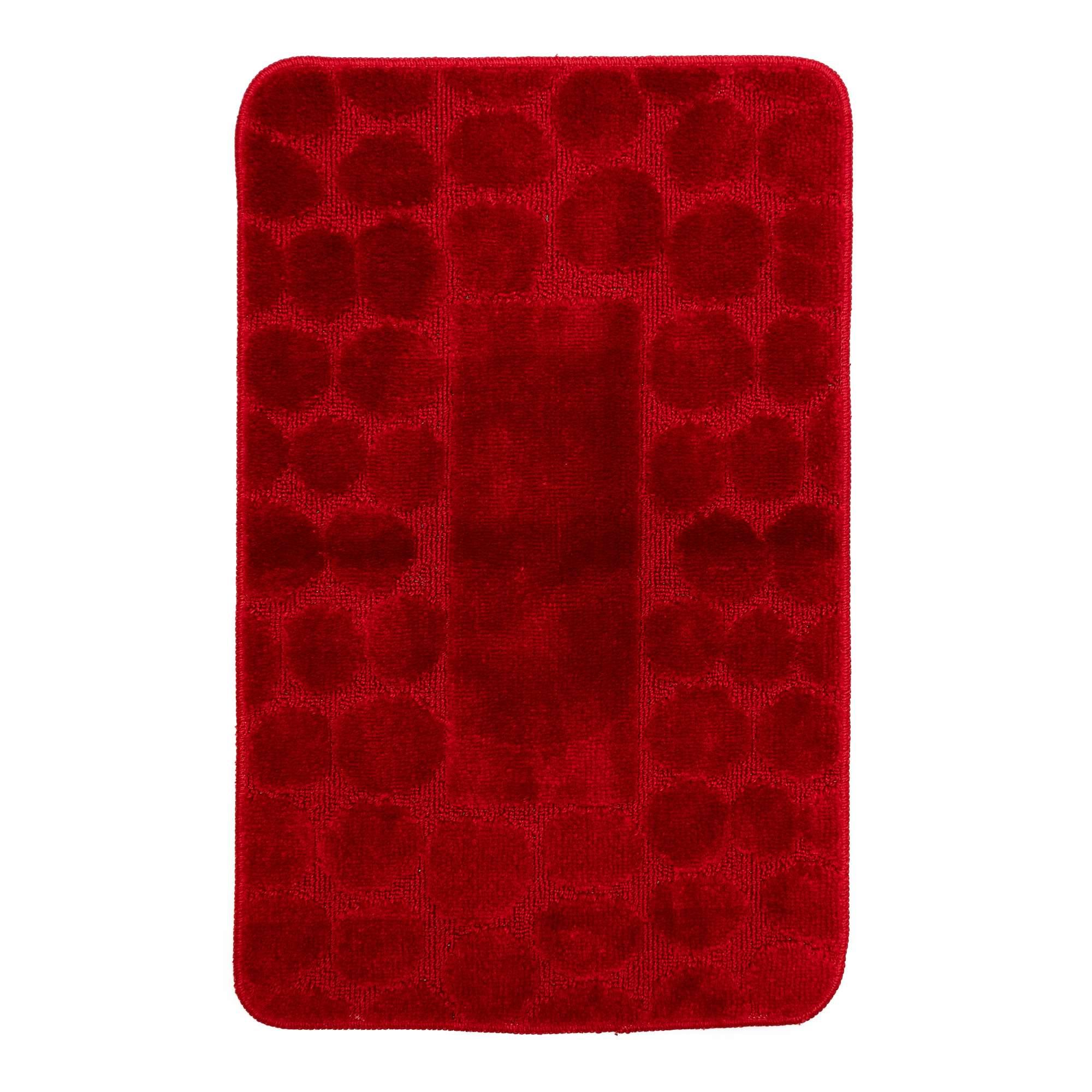 Tappeto ALMA Rosso Parure 3 pezzi