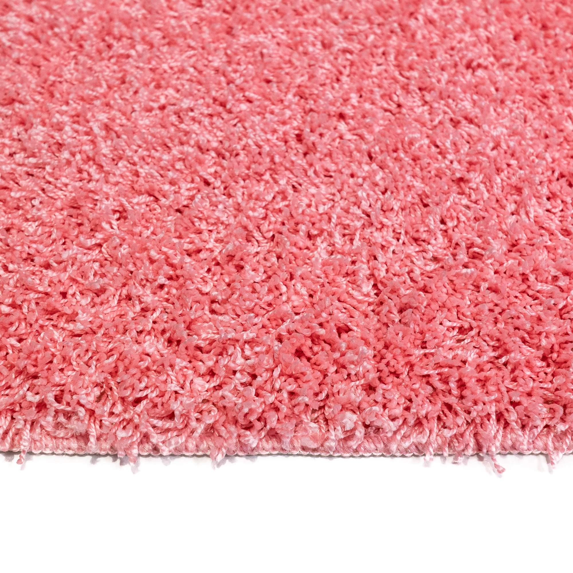 Tappeto SOFT PLAIN Rosa