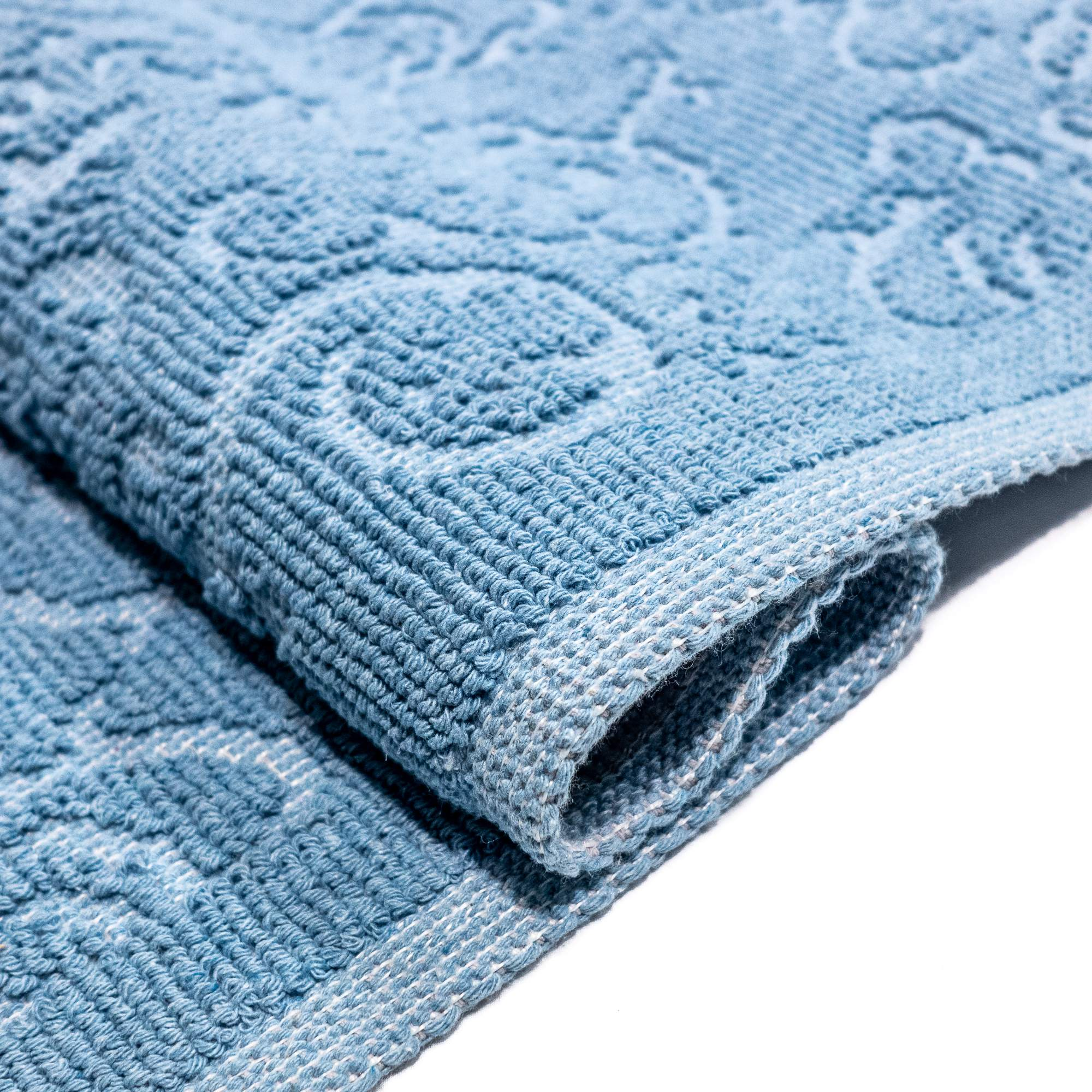 Tappeto Cotone MALAGA Baby Blu