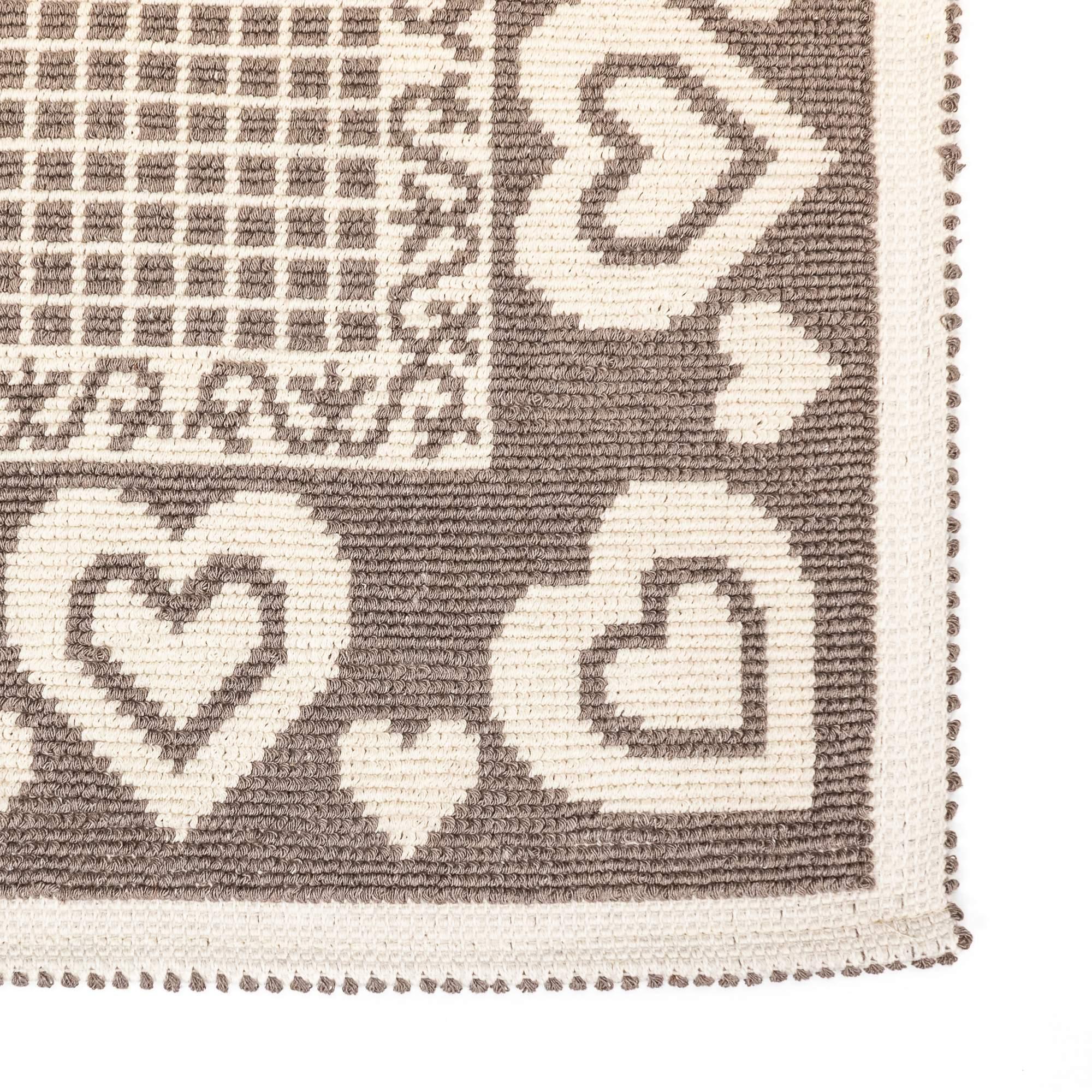 Tappeto Cotone HEARTS Beige