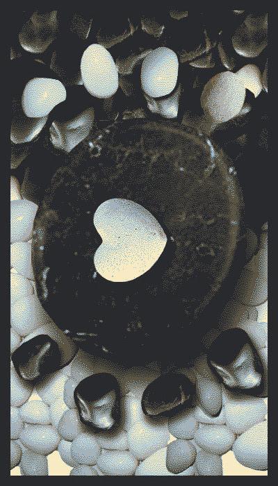 Snappy mat HEART OF STONE