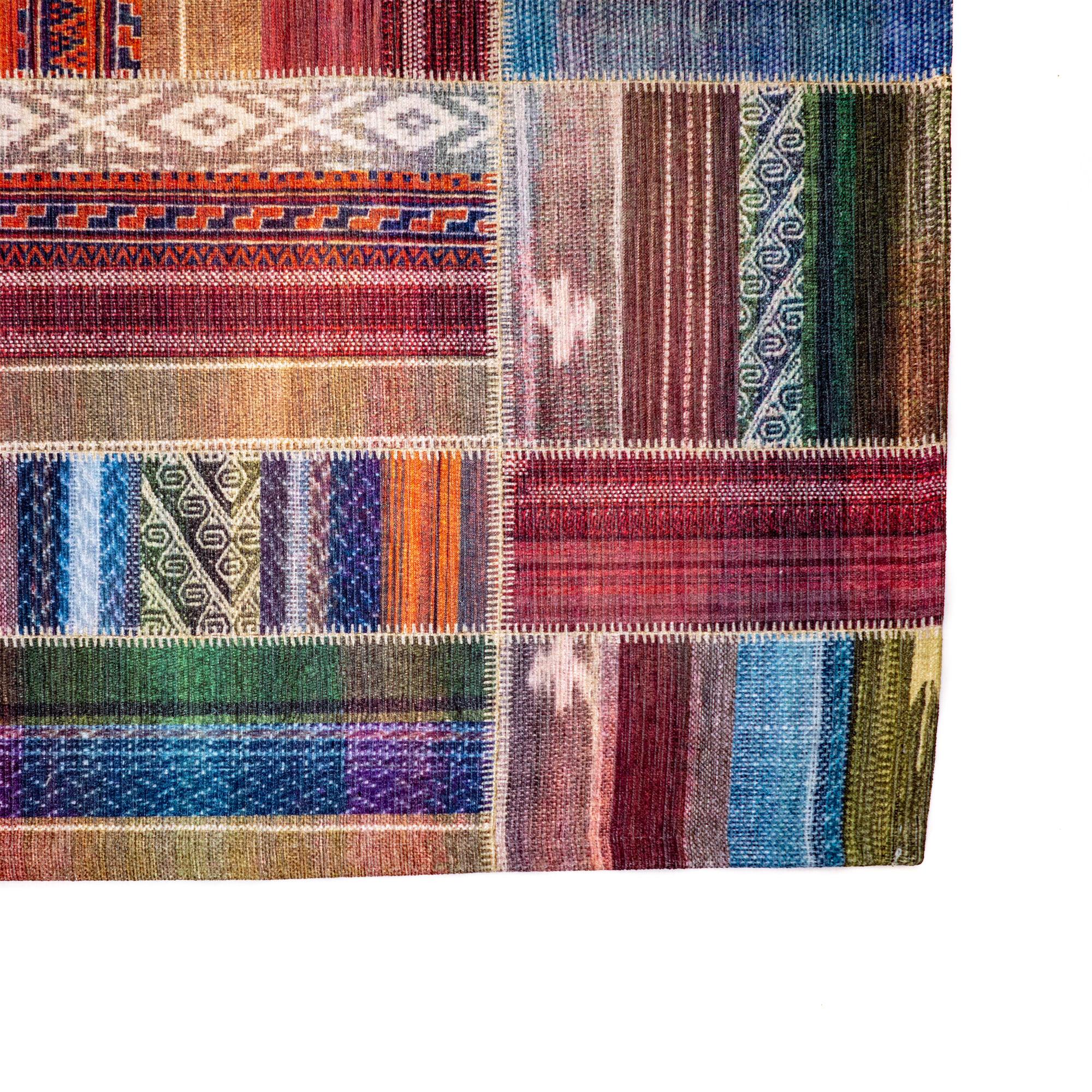 Tappeto Digital Chenille Colorful C-2057