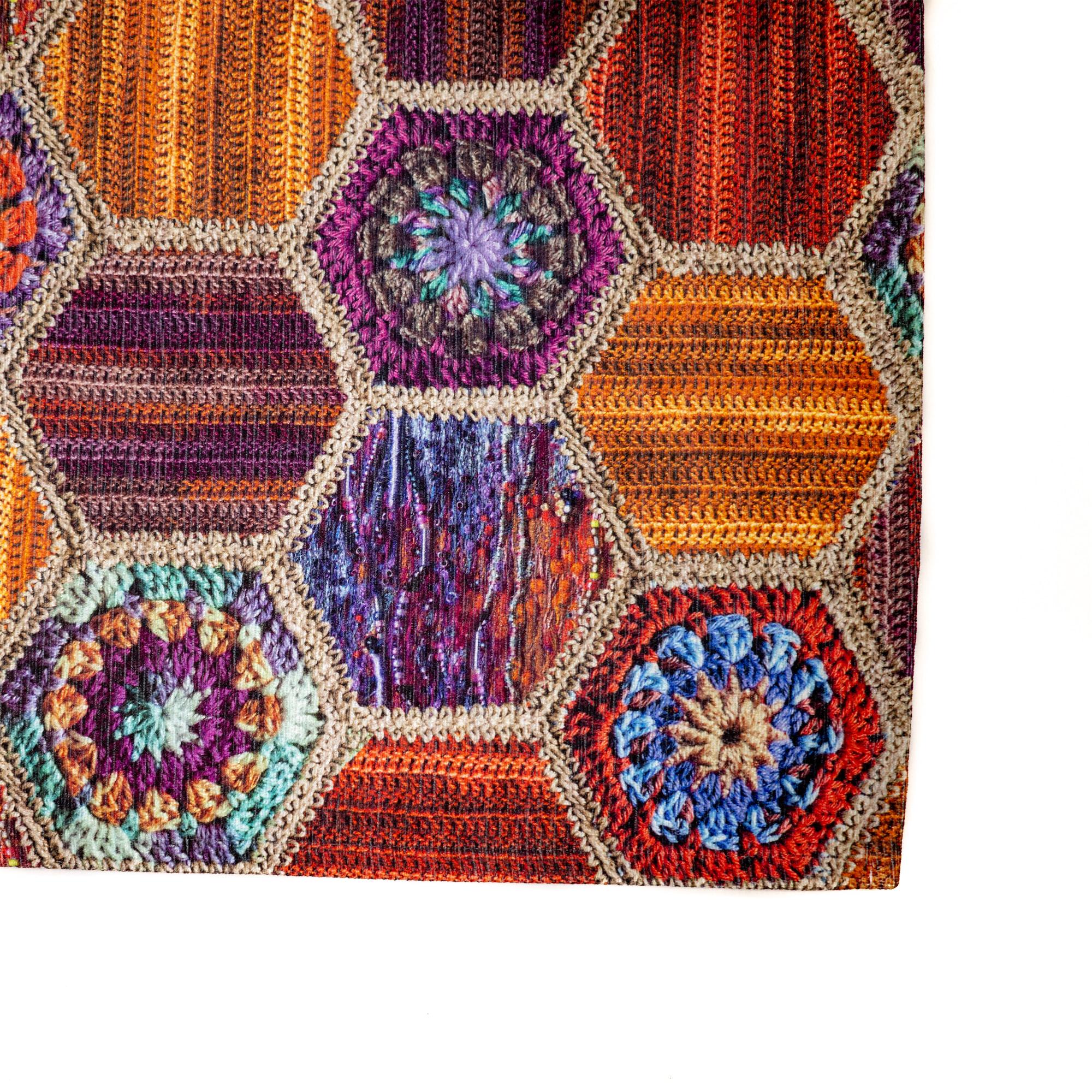Tappeto Digital Chenille Colorful C-2014