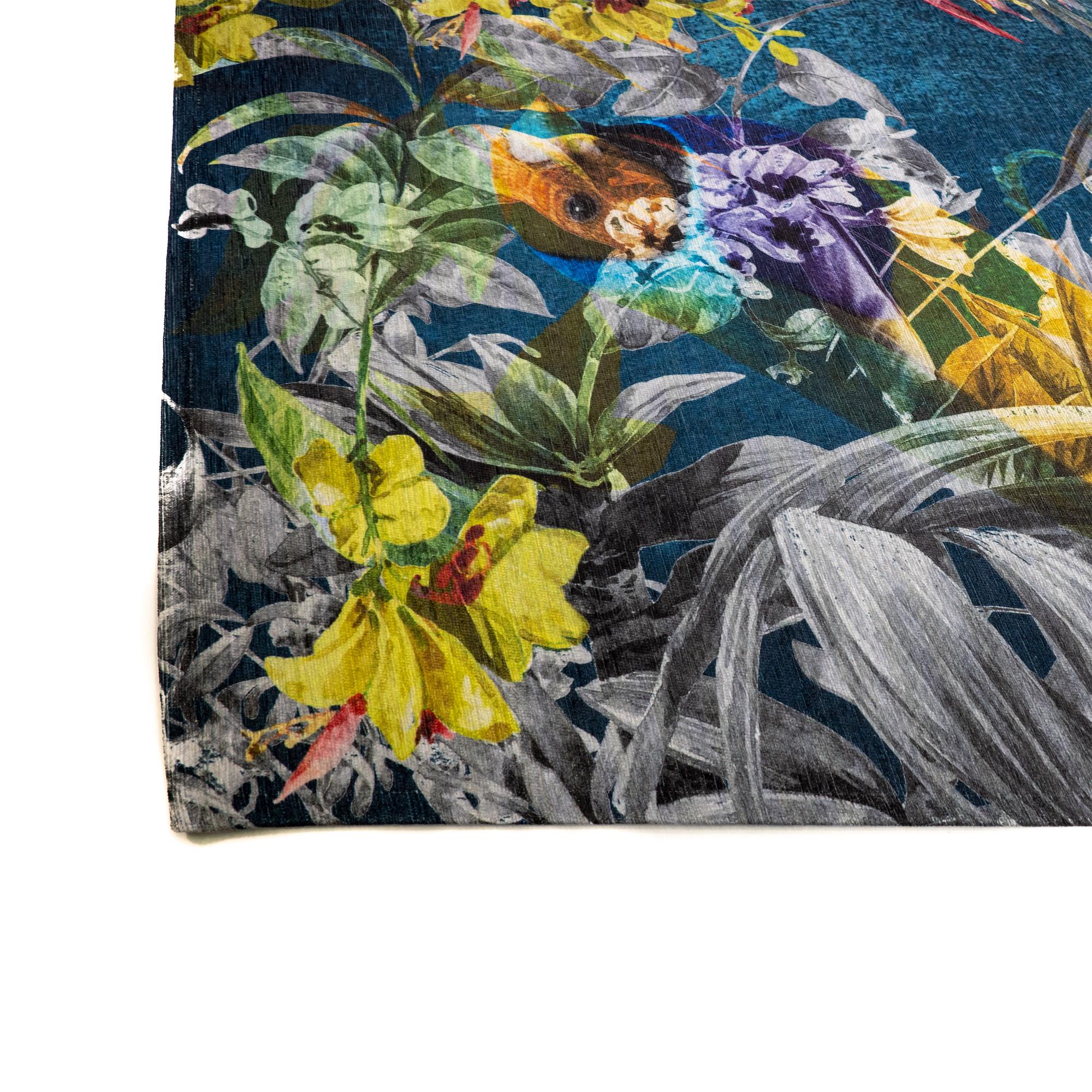 Tappeto Digital Chenille Jungle C-2354