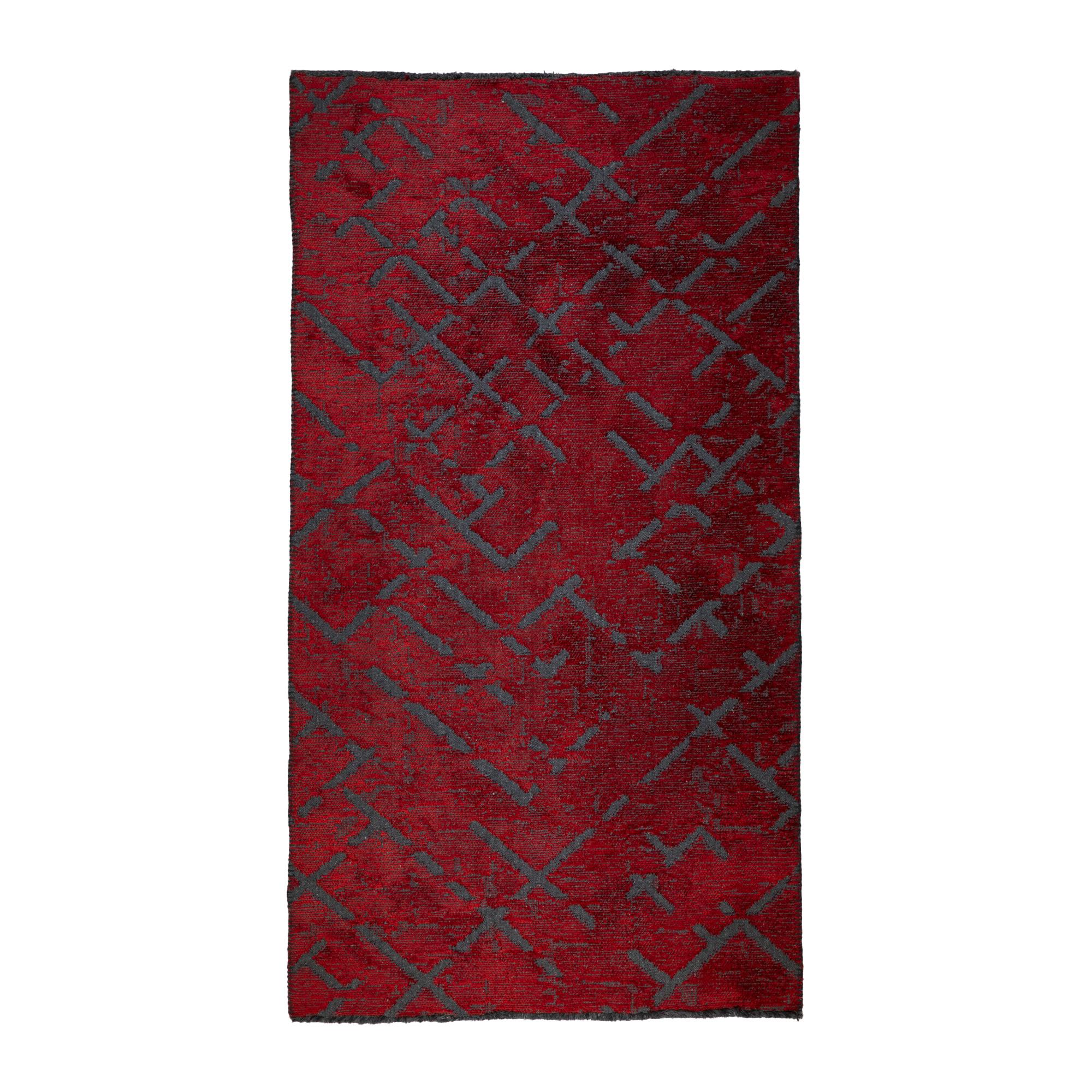Tappeto Cotone/Ciniglia CRYSTAL RED